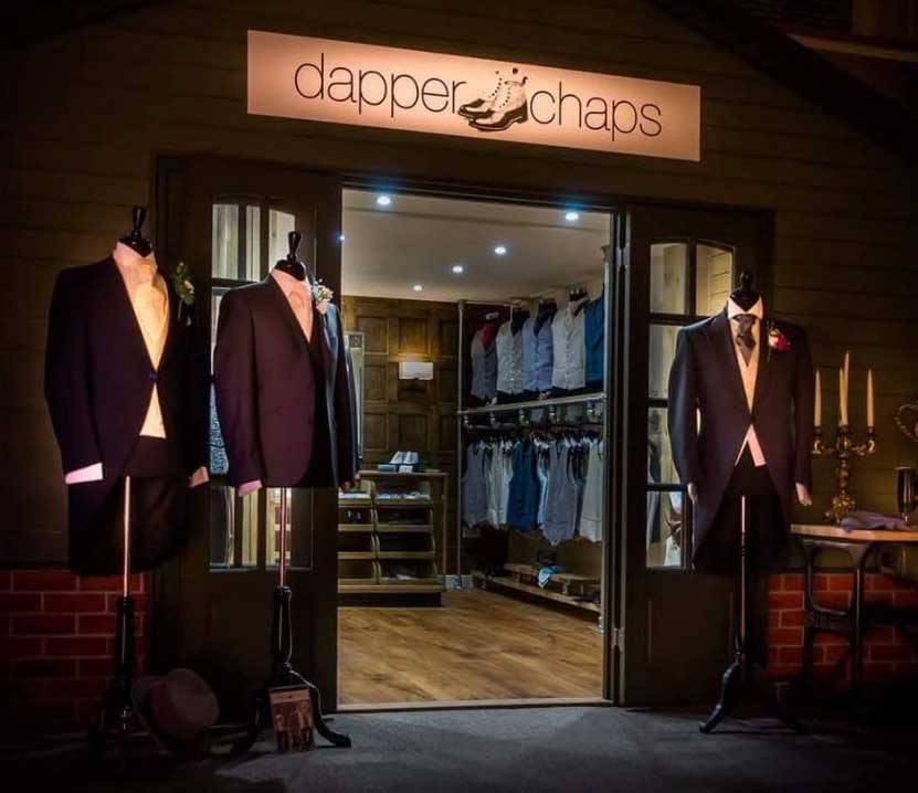 Dapper-Chaps-shop-front-night