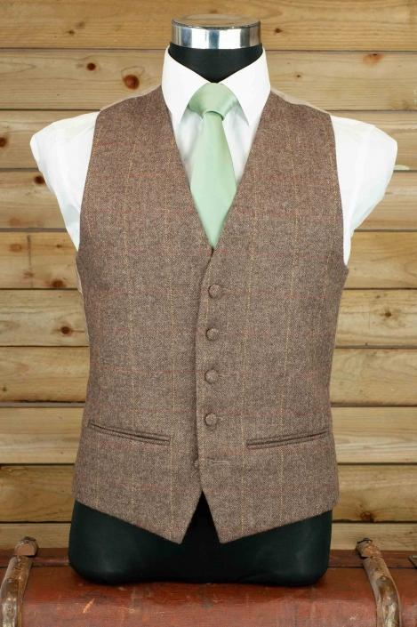 dapper-chaps-coffee-tweed-waistcoat
