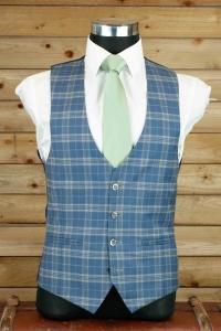 dapper-chaps-blue-check-waistcoat