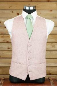 dapper-chaps-sea-pink-tweed-waistcoat-waistcoat