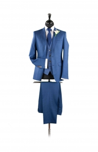 dapper-chaps-blue-fleck-lounge-suit-check-waistcoat