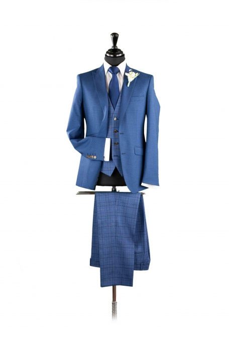 dapper-chaps-blue-lounge-suit-check-trouser-and-waistcoat