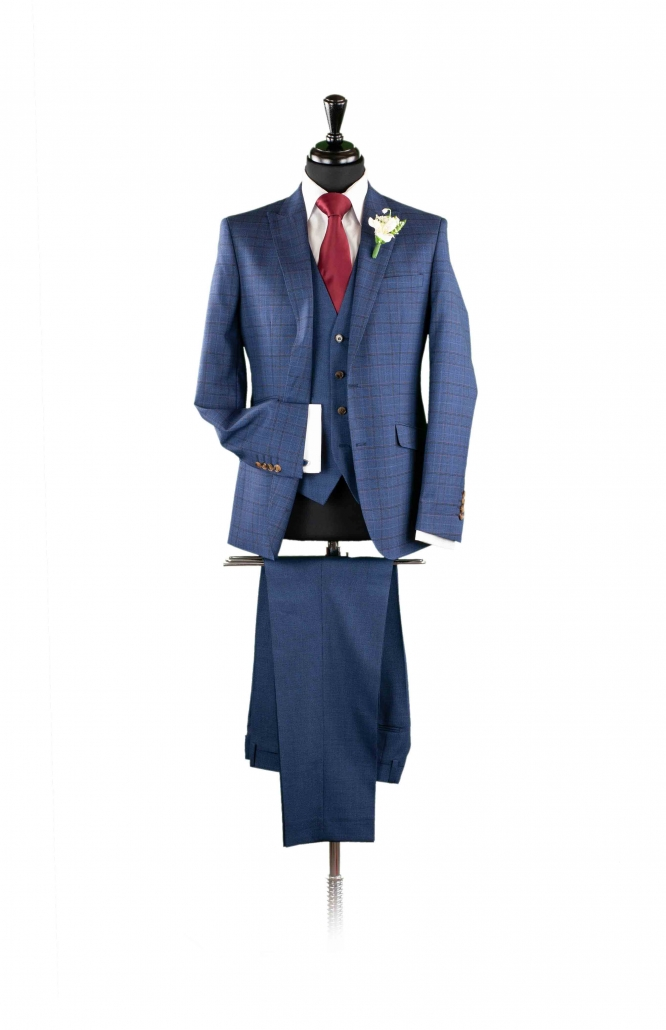dapper-chaps-navy-fleck-lounge-suit-with-check-jacket