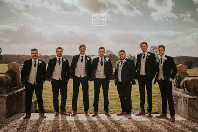 dapper-chaps-groom-grey-lounge-suit-ascot-grey-waistcoat